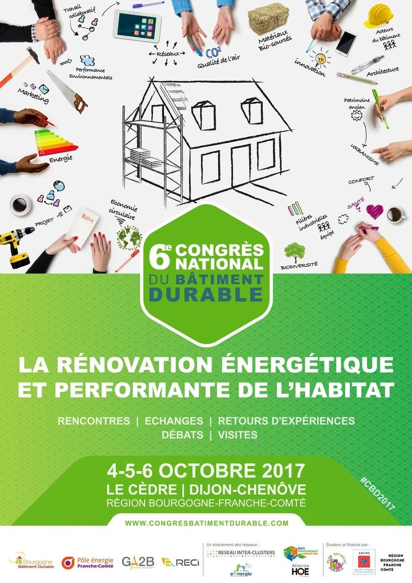 6ème congrès du bâtiment durable  rénovation  Web2vi