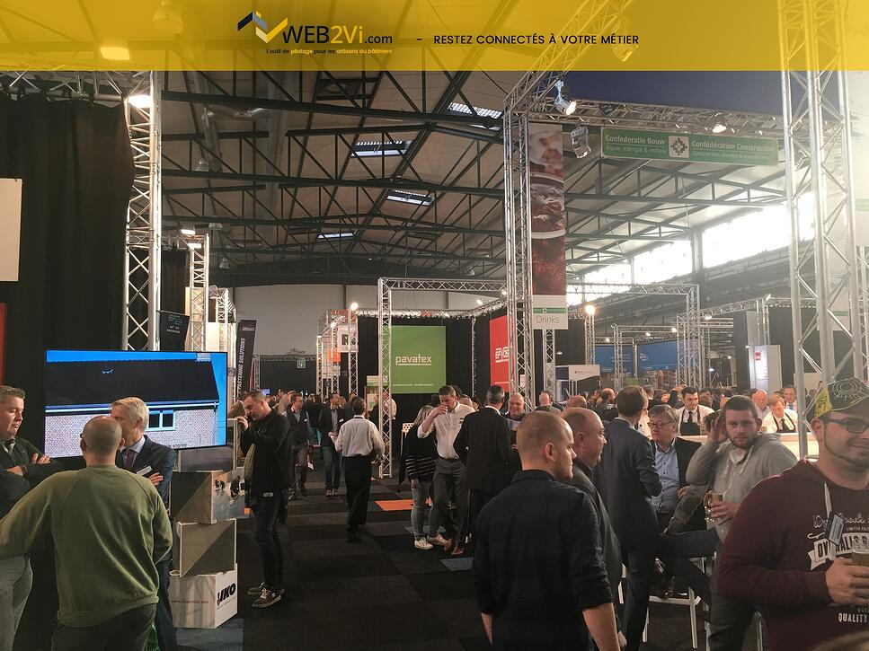 Belgian roof day soleil belge sur le salon recap photo Web2vi