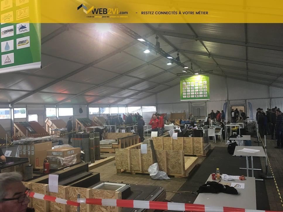 Belgian roof day concours d'ouvrages recap photo Web2vi