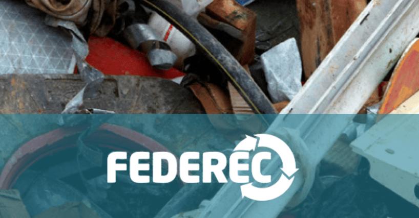 Web2vi Federec recyclage étude statistique 2016 déchets du batiment