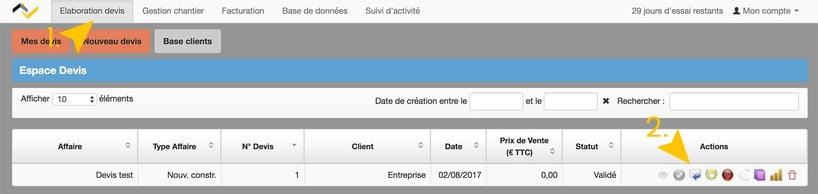 Mise à jour Web2vi CRM logiciel de gestion mail clients