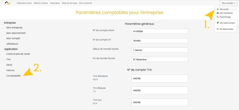 Nouveautés Web2vi Octobre 2017 informations de comptabilité