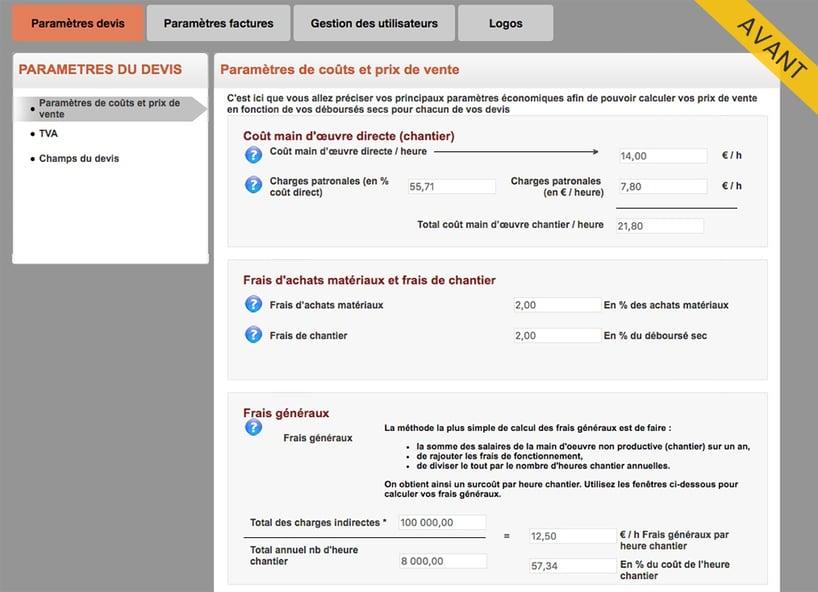 Mise à jour Web2vi nouveau design module de gestion bâtiment