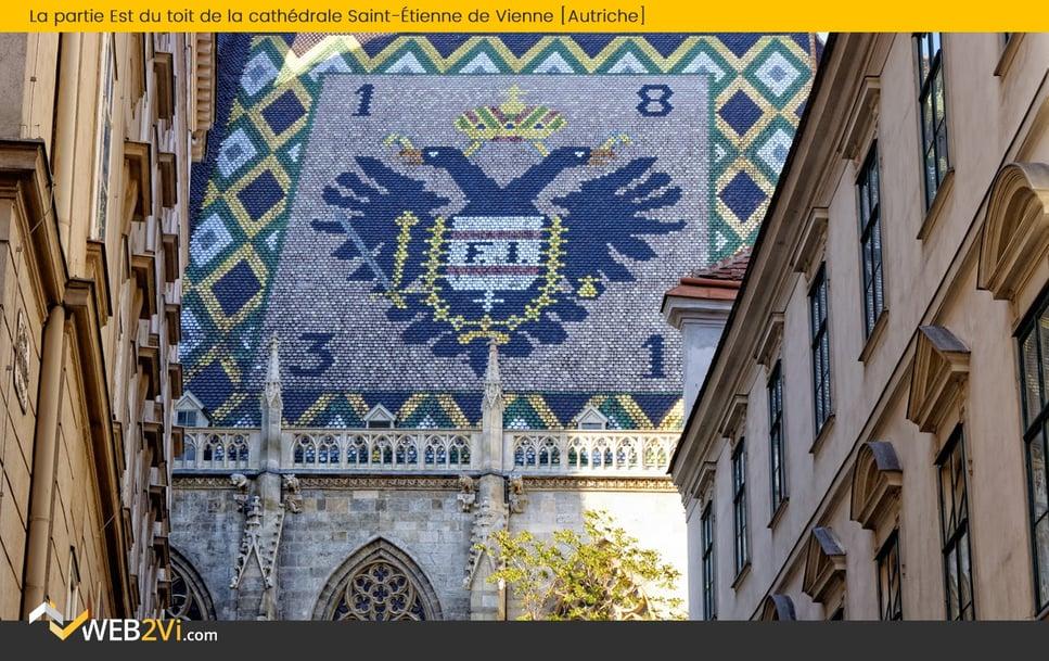 Toits du monde Web2vi La cathédrale Saint-Etienne de Vienne Autriche