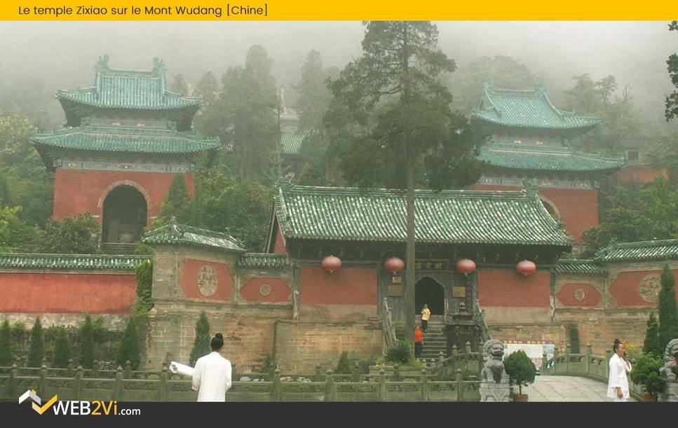 Toits du monde Web2vi couverture Chine Mont Wudang