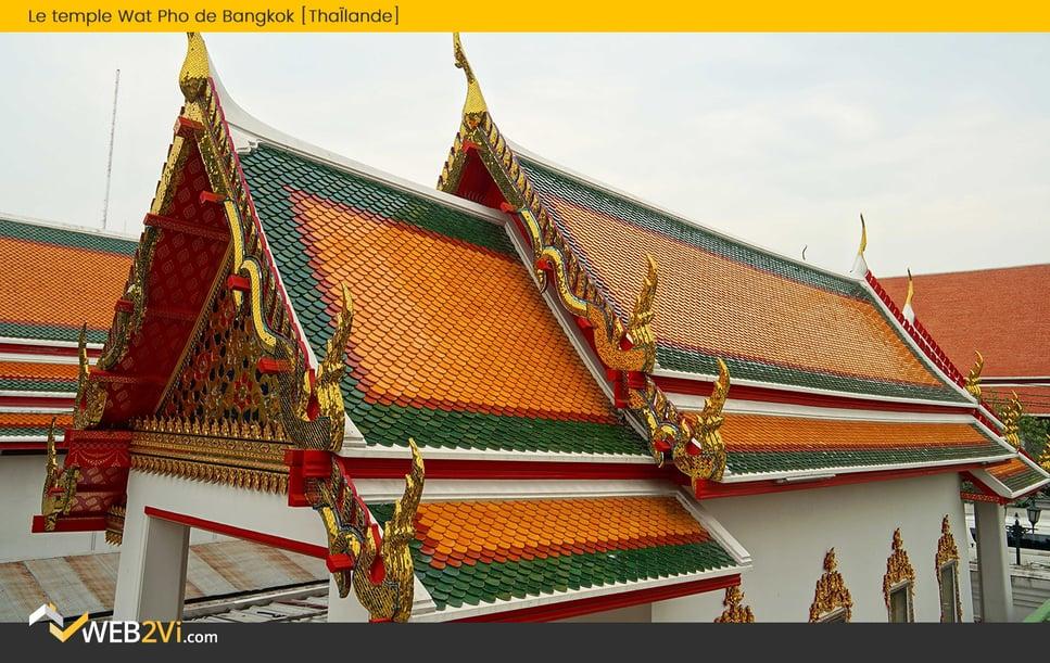 Toits du monde Web2vi couverture Wat Pho Thaïlande