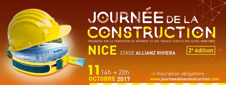 Journée de la construction Nice Web2vi bâtiment BTP professionnels