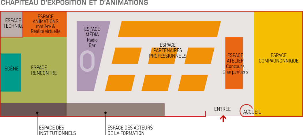 Plan exposants JEDC Web2vi Toulouse 2018