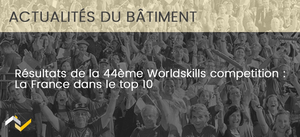 Résultats de la 44e Worldskills competition : La France dans le top 10