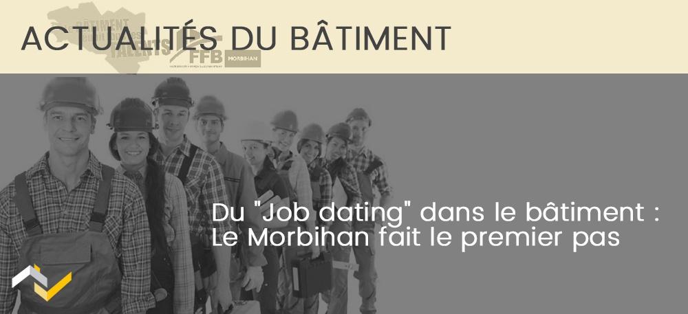 """Du """"Job dating"""" dans le bâtiment : Le Morbihan fait le premier pas"""