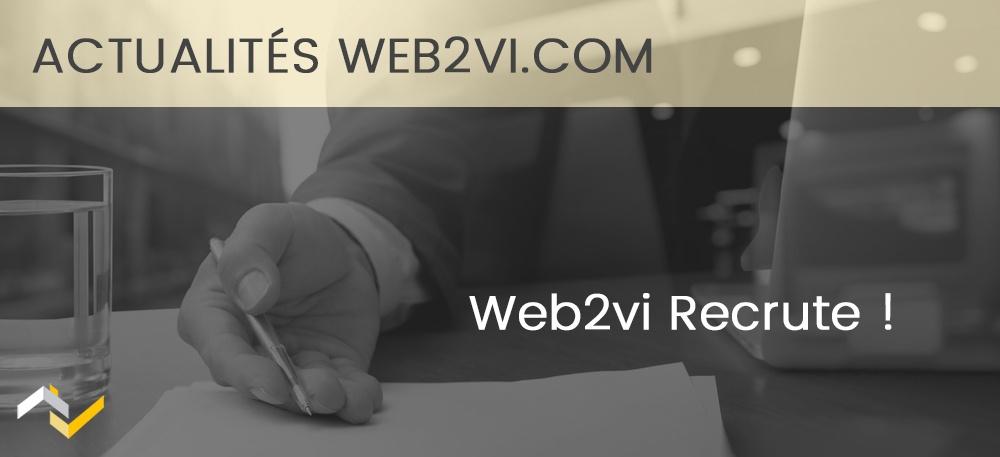 Web2vi.com recrute !