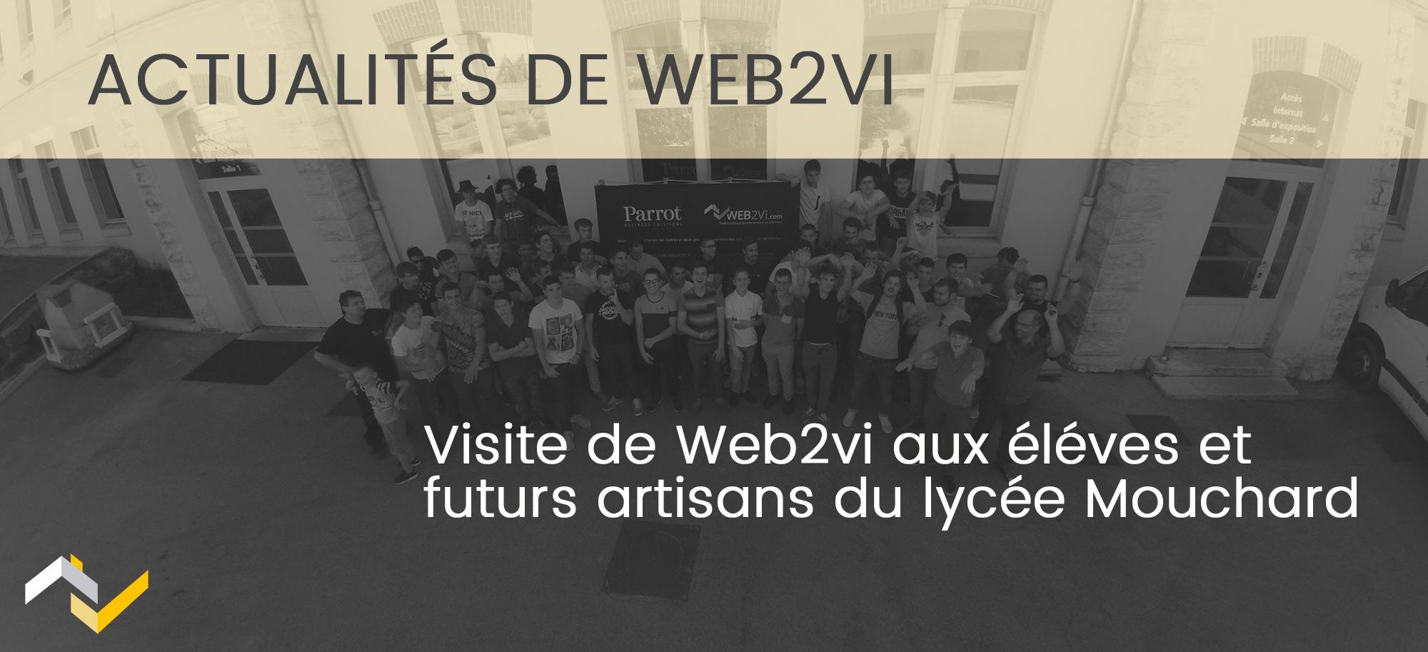 Visite du lycée Mouchard et introduction à l'artisan 2.0 par Web2vi