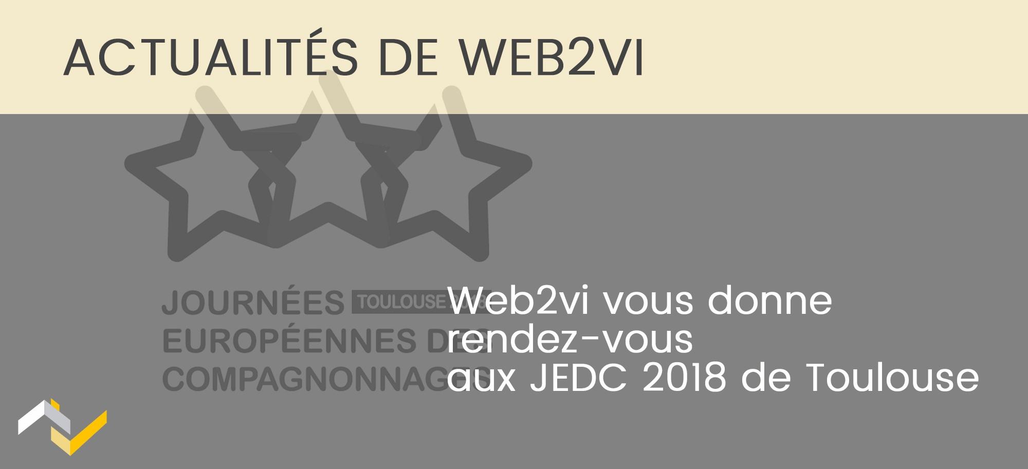 Web2vi présent aux Journées européennes des compagnonnages