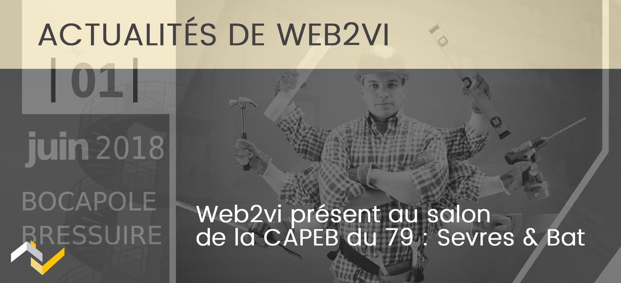 Web2vi présent au salon Sevres & Bat